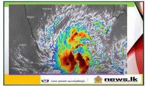 """Warning for Cyclonic Storm """"BUREVI"""""""