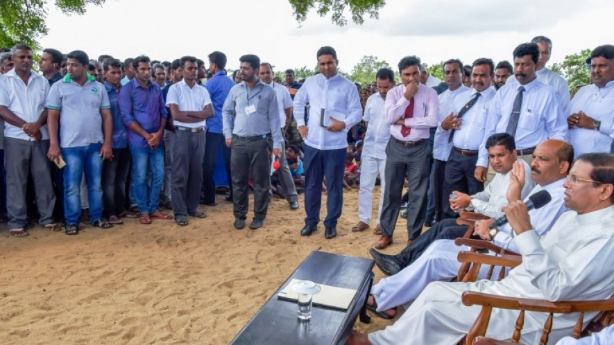 President commences Grama Shakthi People's Movement to promote rural life