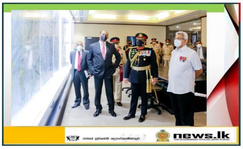 HE the President Inaugurates New Digitalized Operation Room at Army Headquarters
