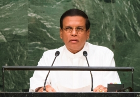 At U.N. Assembly, Sri Lankan Leader Aims to Lift Country's Stature