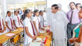 President assures a prosperous economy for Rajarata people
