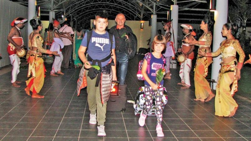 Sri Lanka attracts charter flights from Europe