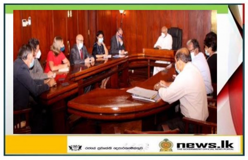 Foreign Minister Dinesh Gunawardena discusses EU-Sri Lanka cooperation with EU Ambassadors in Colombo