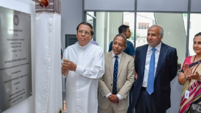President  open  new academic centre at PGIM