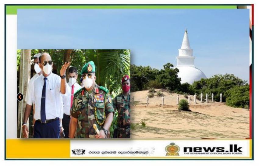 Security Delegation Evaluates Encroachment Issues at Pottuvil Muhudu Maha Viharaya