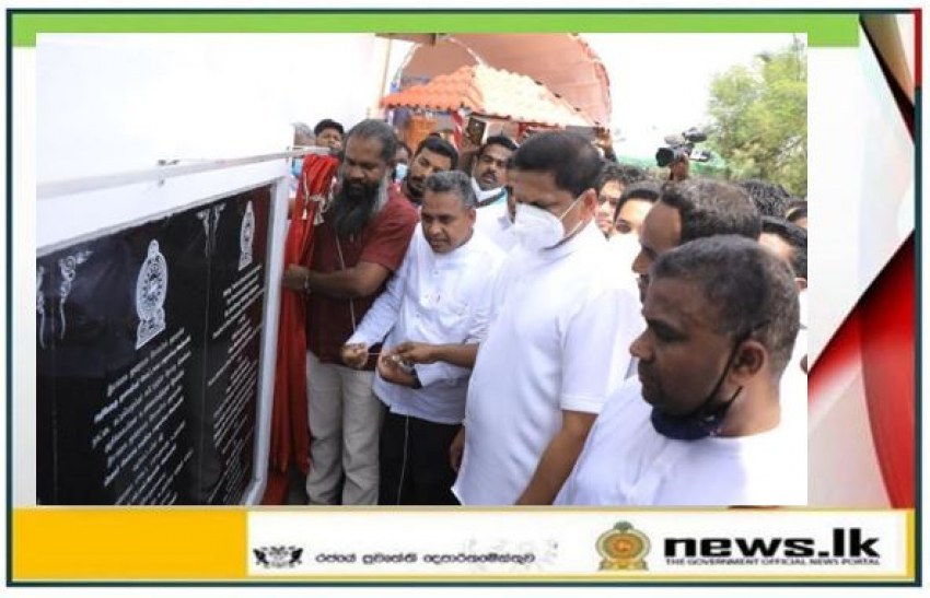 Construction of Kinniya Kurunchankarni Bridge begins