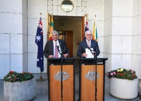 Joint statement by the Prime Ministers of Australia and Sri Lanka