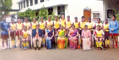 President's Girls College win under 20 hockey title