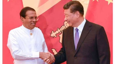 Chinese President assures support to wipe out terrorism from Sri Lanka