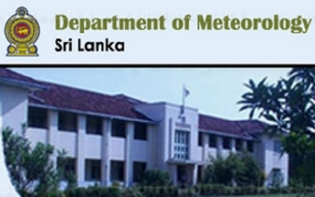 Several spells of showers in Western, Sabaragamuwa and Central provinces