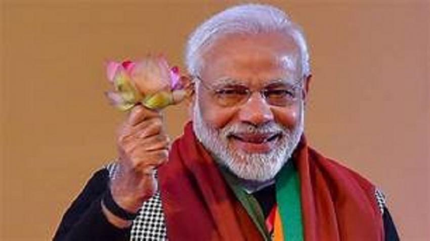 Modi  invites president to visit India