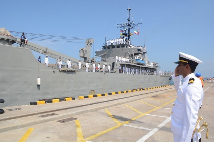 Three Iranian ships arrive at port of Colombo