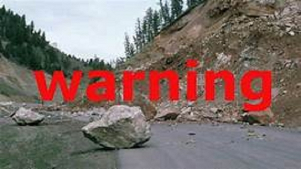 Landslide warnings due to South-West monsoon