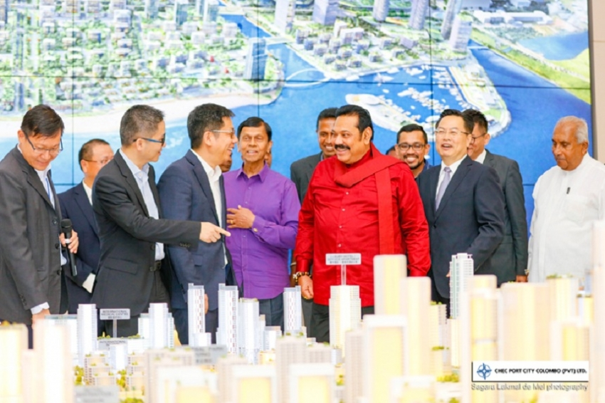 Port City Stamped into the Urban Fabric of Sri Lanka