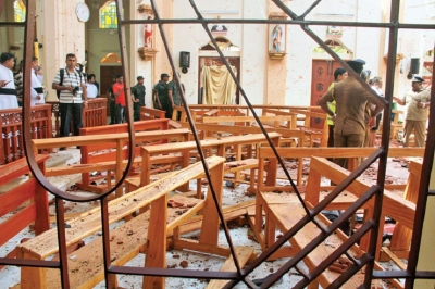 BLACK SUNDAY:Easter Sunday Services marRed by blasts