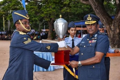 SLAF Inter Unit Drill and Band Competition held