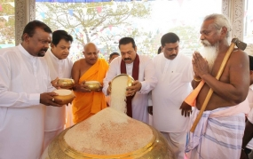 New Rice Festival held at the Sri Maha Bodhi