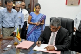 PC Minister signs Gazette notification