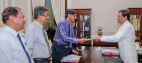 First version of Sustainability Dialogue presented to President