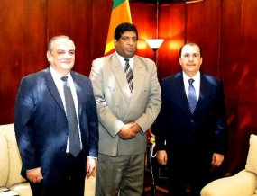 Two envoys meet Foreign Minister