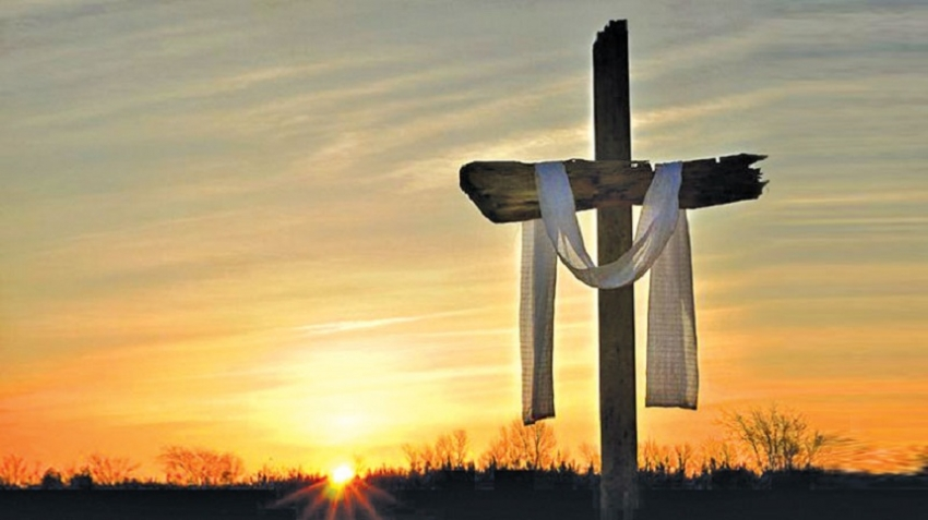 Triumph through agony on cross