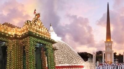 Historic Kelaniya 'Aaloka Pooja' tomorrow