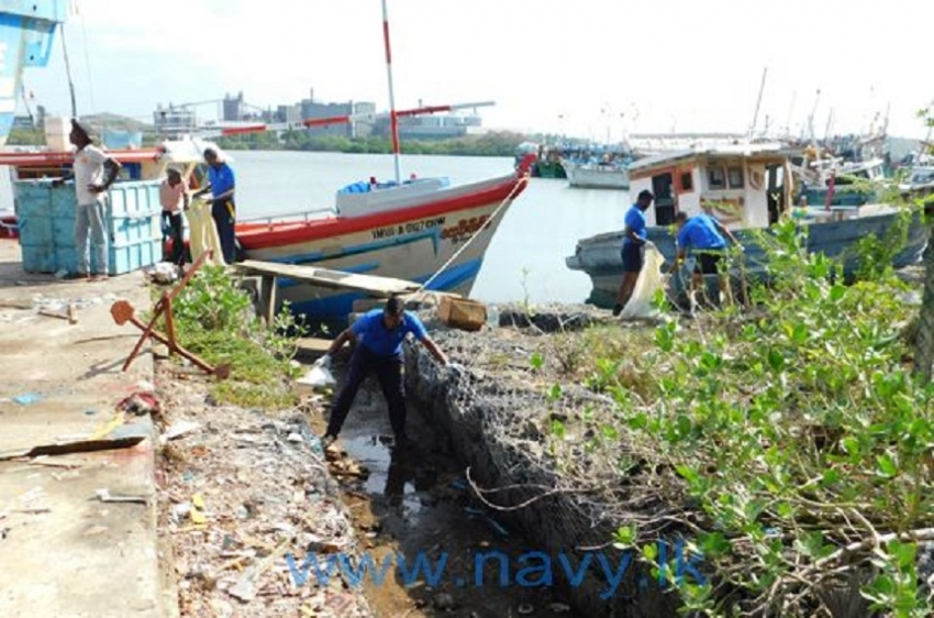 Navy active in 'National Coastal and Marine  Conservation Week'