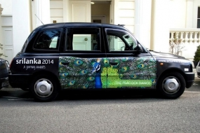 Sri Lanka Tourism launch a mega Taxi Advertising Campaign in UK