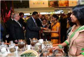 Ceylon Tea Boutique attracts a large number of  ITB visitors