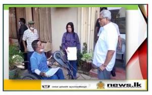 President makes sudden inspection visit to Narahenpita NHDA Office