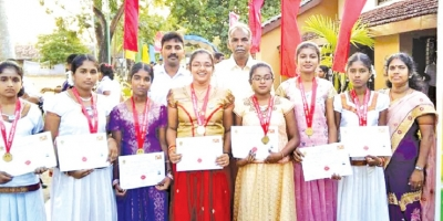 Trincomalee Educational Zone bags first place