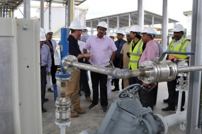 FUEL HYDRANT SYSTEM AND AVIATION REFUELING TERMINAL AT MRIA, HAMBANTOTA