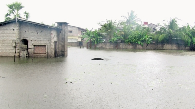 Inclement weather hits Ampara