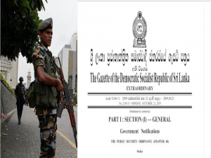 Gazette issued deploye Tri-forces  to maintain public order