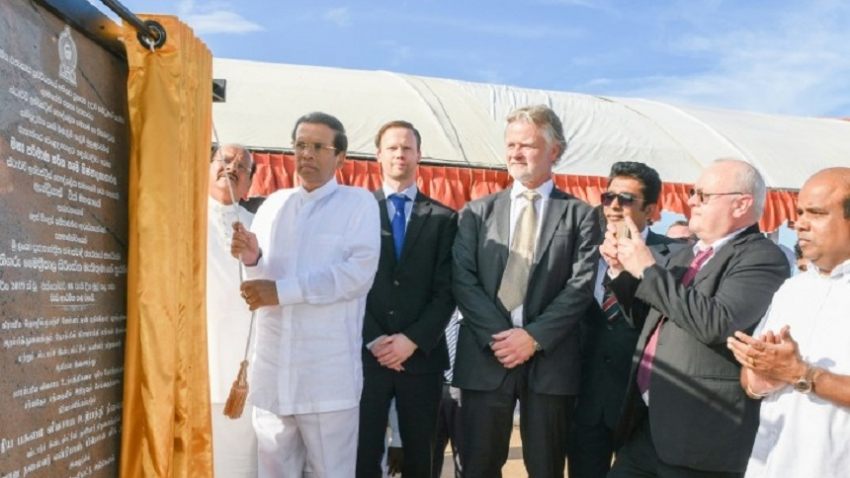 President lays foundation stone for industrial complex of large-scale cassava project