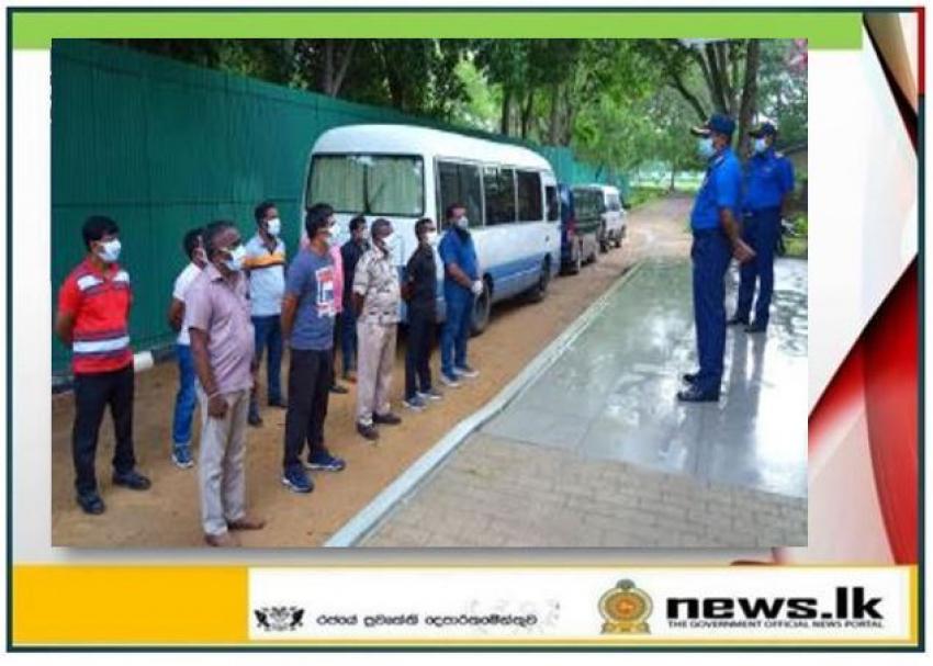 Another 10 inmates leave Boossa Naval quarantine centre after quarantine process