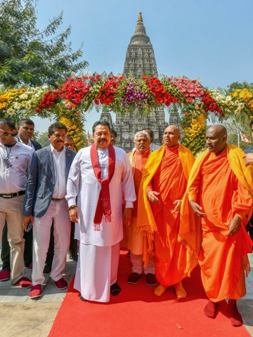 PM pays homage at Bodh Gaya