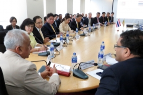 Thai Business Delegation to Sri Lanka: MoU signed between CCC and TCC