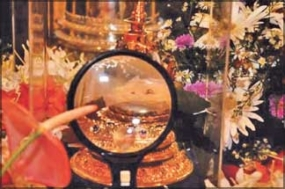 Exposition of Sacred Relics in Kandy