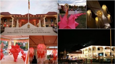 Vesak celebrated at Canberra High Commission