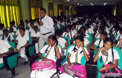 Educational seminar for Trincomalee students