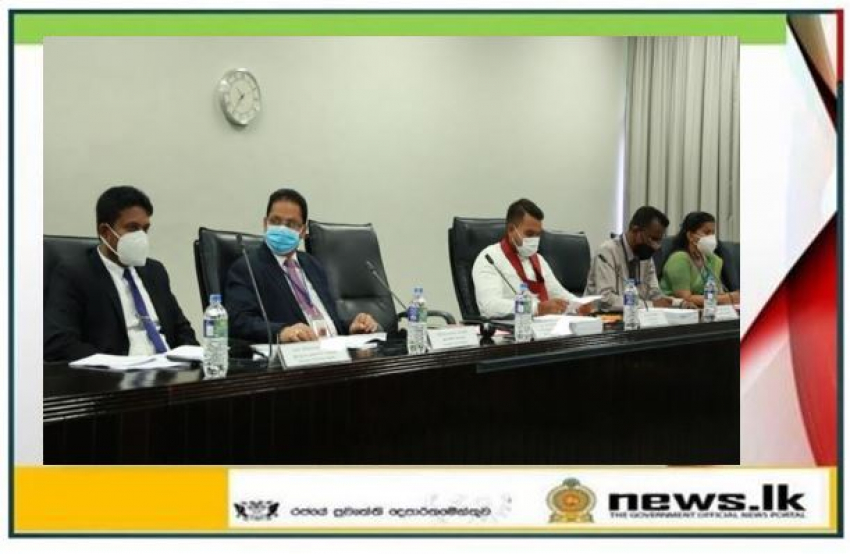 The official text of the prohibited list of various sports for 2021 to be tabled in Parliament on the 21 st - Minister Namal Rajapaksa