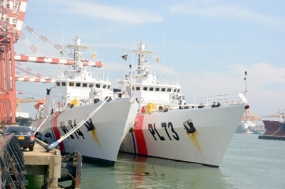 Two Bangladesh ships arrive at Colombo Port