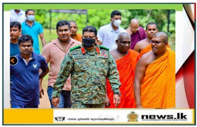 Commander Undertakes a Visit to Kuragala Cave Temple, now a Symbol of Reconciliation
