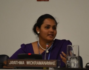 Jayathma Wickramanayake appointed as UNSG's Envoy on Youth
