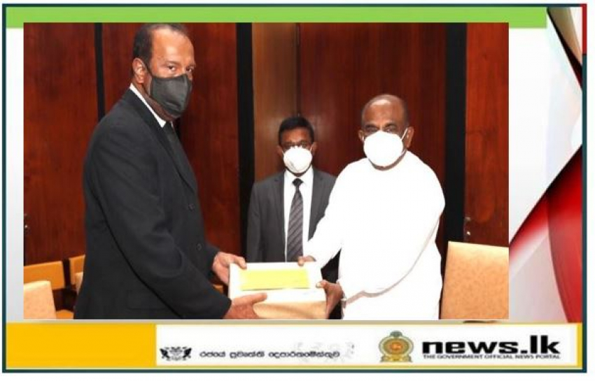 Final report of PCoI on Easter Sunday submitted to the Hon. Speaker