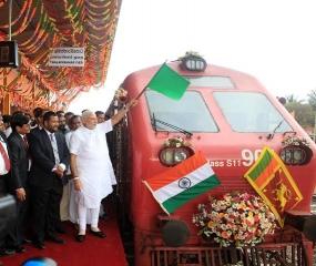 Northern Railway - A Milestone in Sri Lanka, India Partnership