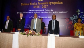 'National Health Research Symposium - 2017' held