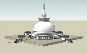 Sandahiru Stupa Sacred Relics Depositing Ceremony tomorrow