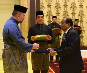 High Commissioner to Malaysia presents Credentials